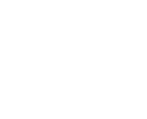 Goodridge&Williams Canadian craft distillery logo